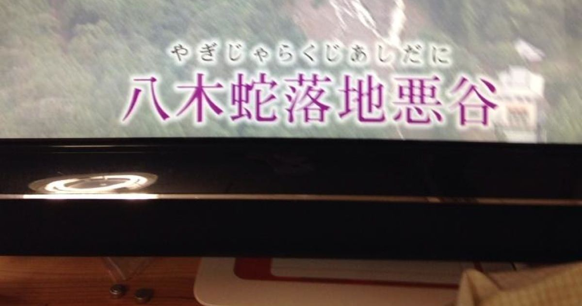 広島の土砂災害。一番酷かった八木地区の昔の土地名【八木蛇落地悪谷(やぎじゃらくじあしだに)】に驚き。昔の人はここは危険なところだよと、名前で伝えようとしていたのかもしれない
