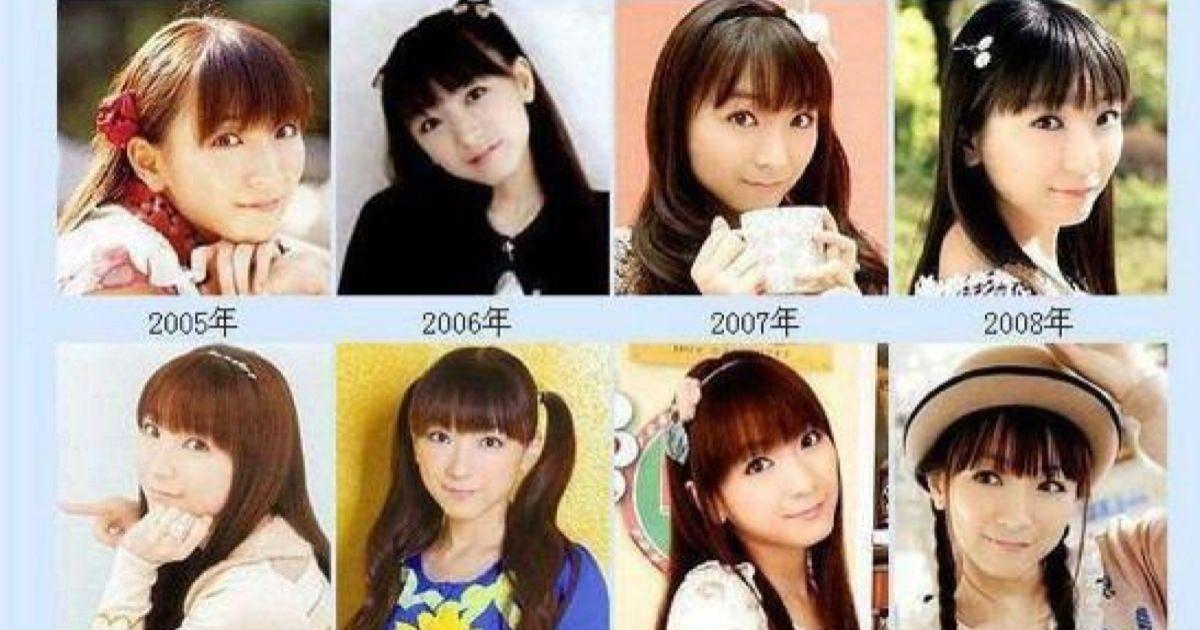 堀江由衣さんは「永遠の17歳」1997年から現在まで美しさが変わっておりません