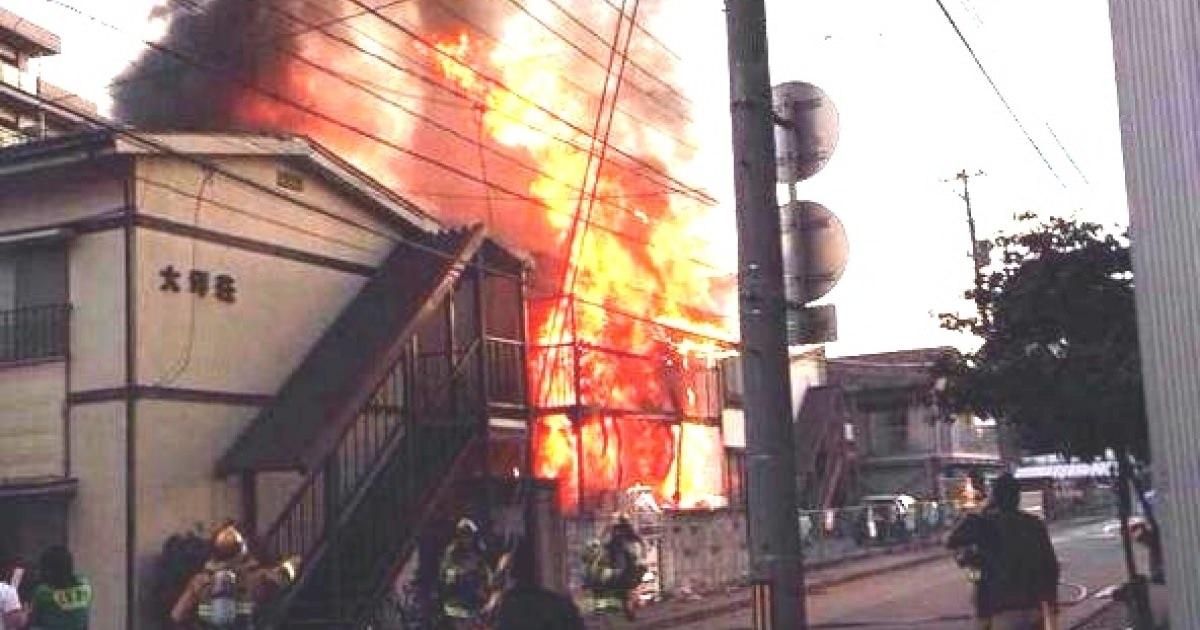 ビッグダディの家「ほねつぎ盛岡屋」が火事騒ぎ・・・鎮火もして一応大丈夫らしい