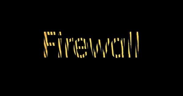 PC関連で連想されるファイアーウォールを可視化して触感を味わう事が出来る「Firewall」が素晴らしい