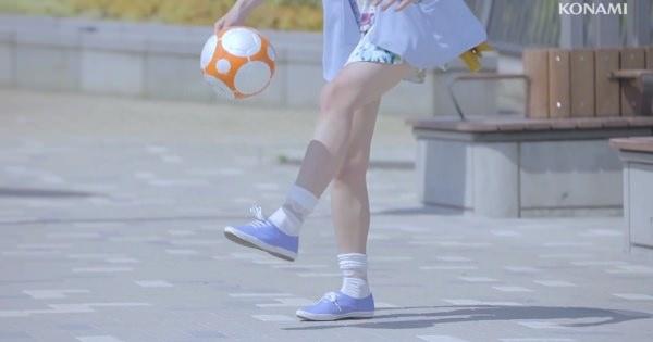 男の子が想う「サッカー大好き系女子」のイメージした映像!そのうえ爽やかでエロさを感じさせない男の子ホイホイである
