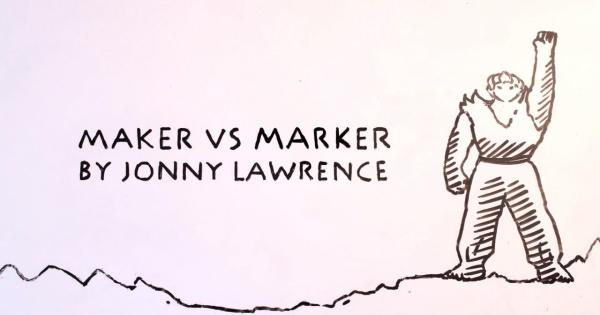 作者VS作品!?ホワイトボードで次元を超えた戦いが広げられるショートアニメ「Maker vs Marker」