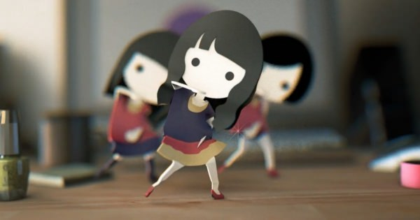 パヒュームが紙人形になった!?机上でコミカルに踊るミニPerfumeがカワイイ