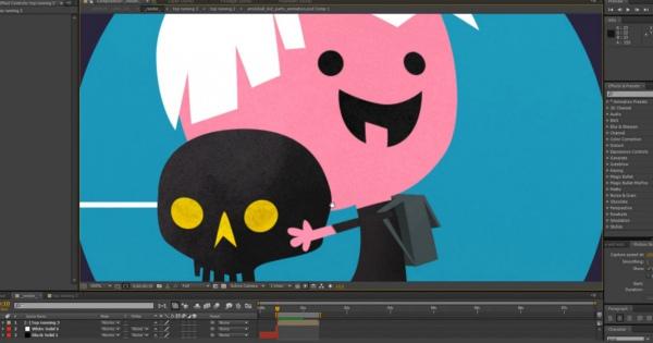 一つのアニメーションを完成するまでの過程が面白い!こんな感じで動きを作るという流れを知る事が出来る動画。