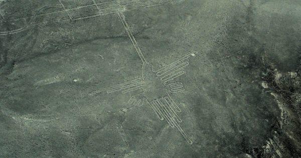 世界七不思議の一つ 「ナスカの地上絵」の有名な絵柄だけを集めてみました
