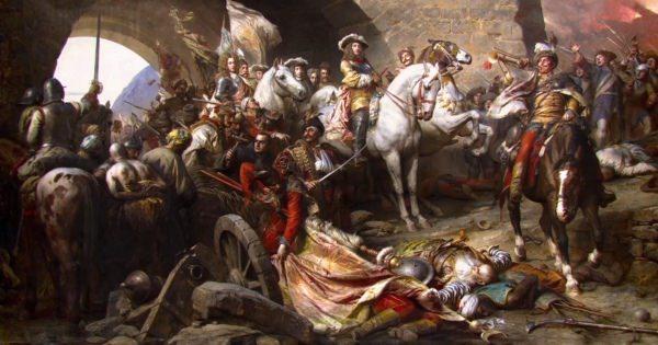 画家ジュラ・ベンツール氏の作品『Budavár visszavétele』を850万のポリゴンで完全再現した作品とは