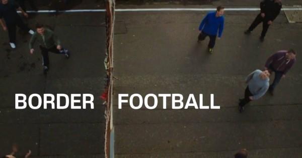 サッカーボールが、紛争によって分断された人たちの心をつなげる感動的な動画