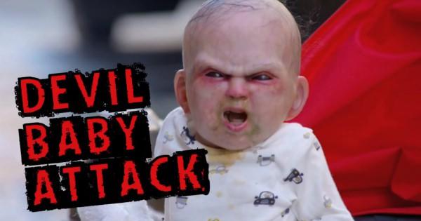 超リアルな悪魔の赤ちゃんが突然迫って来たらあなたならどうしますか?