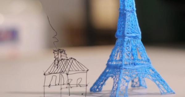 世界初の3Dプリントペンが開発されたんだって!(3Doodlerキックスタータービデオ)
