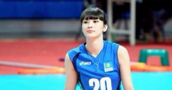 バレーボール、カザフスタン代表のサビーナ選手が美人過ぎて見た人が必ず恋に落ちる【10頭身でリアルセーラームーン】