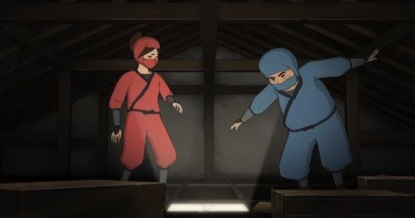 屋根裏に潜伏したベテラン忍者と新米忍者のやり取りがめちゃくちゃ笑える! 傑作のコント・アニメシリーズ「Peeping Life」!