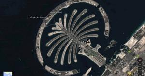 昨日、googleマップでドバイ周辺を探索していたら凄い所を発見しちゃいました。
