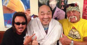 【超速報】新宿にある「キラーカーンのお店 カンちゃん」にハルクホーガン現る!!www
