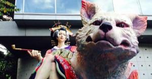藝祭2014 神輿がカッコ良過ぎて興奮する!!