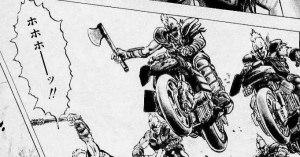 【世紀末】68才無職男性「ひゃっはー!!」斧を振り上げバイクで突進してきた男に警官が発砲 緊急逮捕する
