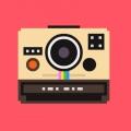 わお!かわいいカメラがいっぱい!!ドットデザインで描かれた「the camera collection」