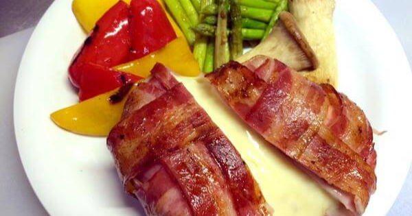 デブ飯って呼ばれてるけど誰が食べても舌がとろける「カマンベールチーズのベーコン巻き」レシピ