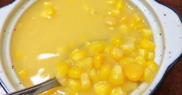 コーンポタージュをもっと美味しく頂ける奇跡のコーン×コーンレシピ☆