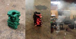 キャンプや広いガレージなどで一気に蚊を撃退する方法