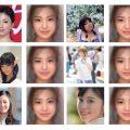 今までまとめてきたかわいい女の子たちで「顔面偏差値スカウター」試してみたよ