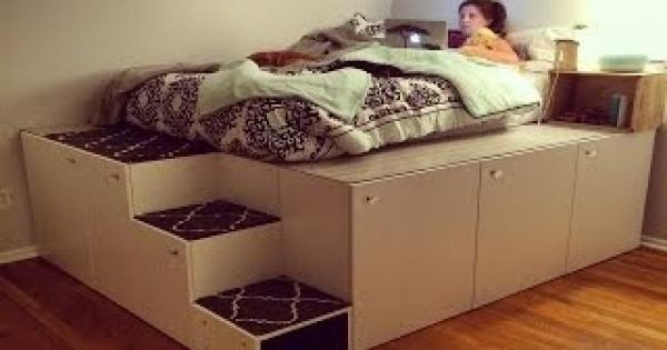 IKEAハック!IKEAの商品でベッドをDIY!!