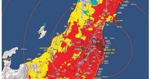 無関心ゾンビの急増と放射能汚染の拡大は比例しているのか? ・・・東京は、この惨状だから関東を含めた東日本は事実上、終わっている・・・!