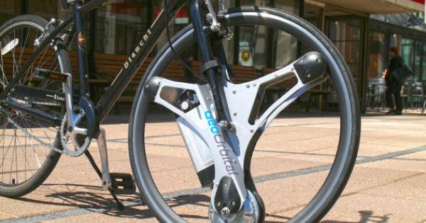 <凄いな、欲しいな・・・!> 手持ちの自転車が1分で電動アシスト付きに。交換ホイール「GeoOrbital Wheel」発表
