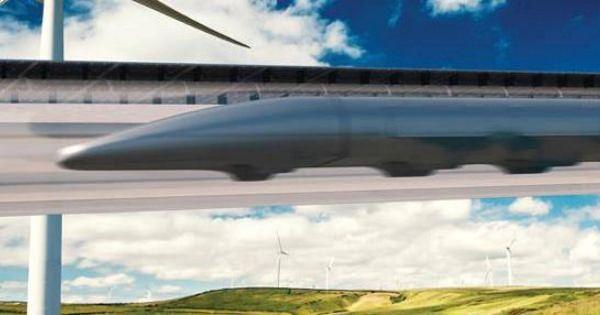 驚きのスピード!時速約640キロの列車!サンフランシスコからロサンゼルスまで35分