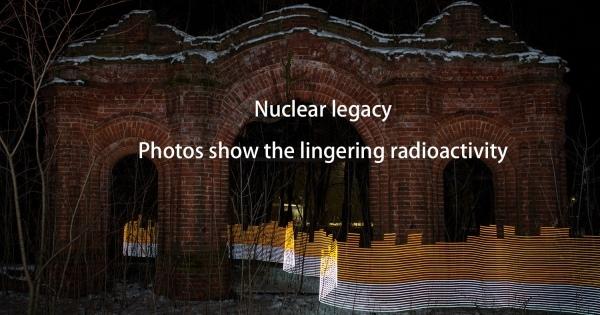 """目に見えない放射線を「見えるように」表現する""""芸術的表現""""を用いて見た福島の残留放射能「ライトペインティング」。"""