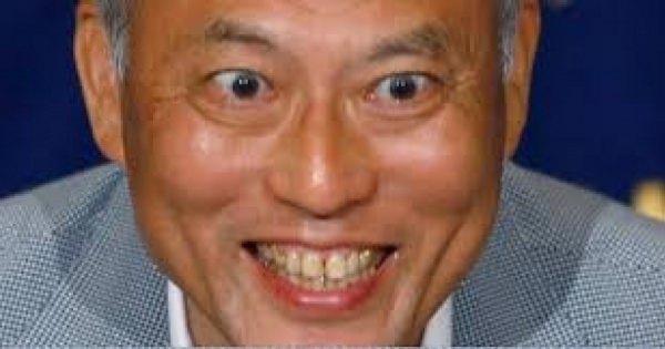 舛添要一都知事。認知症の母親でさえ自分の宣伝に利用していた。
