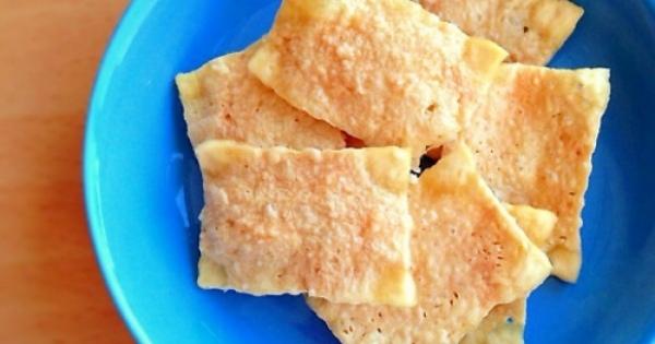 お豆腐をチンするだけの「豆腐チップス」がSNSを中心に話題!