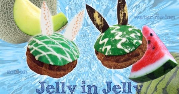 \夏は冷た~いスイーツが食べたい!/まさかの「ゼリー」を使ったシュークリーム3選!!