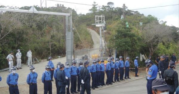 またまた高江のヘリパッド工事に関連して防衛局の違法行為が明らかになった。