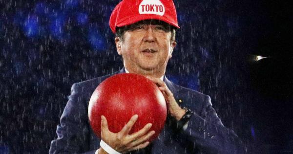 [独裁]「『安倍マリオ』で東京五輪を」は釣りだね? 本丸は憲法改正でしょ?
