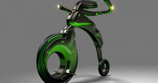 乗ってみたい!近未来の超小型電動バイク「ヤイクバイク YikeBike」