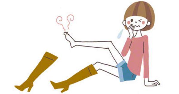 脇汗だけでなく、冬はブーツの蒸れにもアルミニウムが効果的