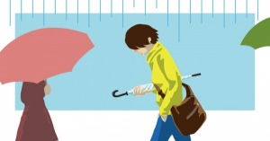 イギリスやアメリカの人って雨が降っても傘をささない?そんなの昔のことだろうと思い調べてみました