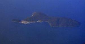 滋賀県の湖上猫島沖島(おきしま)