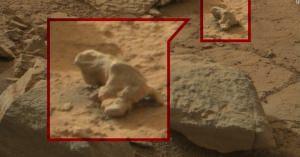 <またまた・・・アポロ月面着陸のように懲りずに捏造か?> 火星で見つかった「生命の痕跡」!?