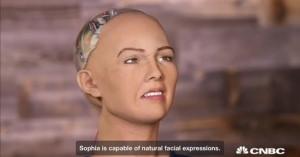 <アンドロイドが人類を滅ぼすと宣言した・・・!>  ソフィアという名のアンドロイドは、人類を殲滅するかとの問いに対し、する、と答えた。CNBCによると、このロボットが最初に起動したのは昨年4月。