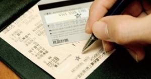 クレジットカードでの支払い サインに決まりある??