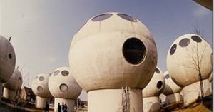 SF映画に出てくる建物みたい!実はオランダの集合住宅です。