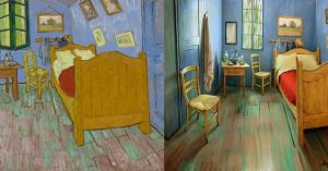ゴッホの絵画を忠実に再現した3次元空間に宿泊!絵画の中で眠る。