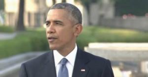 オバマ大統領が広島訪問「魂が語りかけている」原爆慰霊碑の前でスピーチ