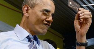 オバマ大統領、レストランでクレジットカードの不正使用を疑われて拒否される!
