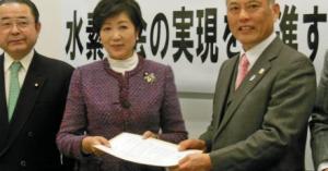 雪崩のように引導を渡されている・・・小池百合子氏、舛添知事続投に「至難の業だと思う」