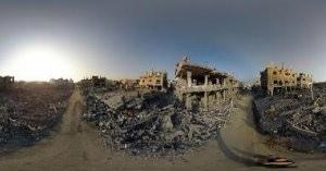 ドローンで見る中東の廃墟・2016シリア、2014パレスチナ・ガザ