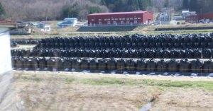 福島ドローン・2015~6富岡町から・・・(公共工事で除染土を再利用へ 全国の道路、防潮堤に)