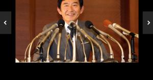 都知事選断念の会見をする石田純一 ・・・ 石田純一、ABCテレビ「おは朝」の生出演は当面見送り