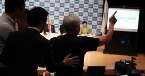 [都知事選] マック赤坂氏 候補者討論会「強制退場」の理由
